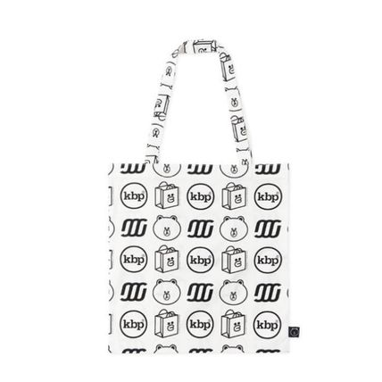 Unisex Street Style Collaboration A4 Logo Shoppers