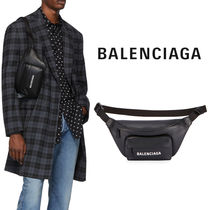 BALENCIAGA EVERYDAY TOTE Unisex Calfskin Street Style 2WAY Plain Hip Packs
