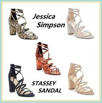 Jessica Simpson Round Toe Faux Fur Plain Other Animal Patterns Party Style