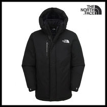 THE NORTH FACE Unisex Street Style Logo Down Jackets