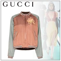 GUCCI Casual Style Souvenir Jackets