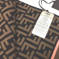 FENDI Knit & Fur Scarves