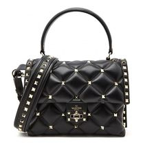 VALENTINO Studded Leather Handbags