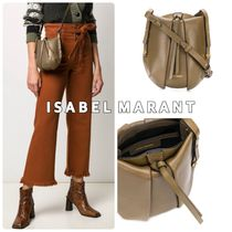Isabel Marant Casual Style 2WAY Plain Leather Shoulder Bags
