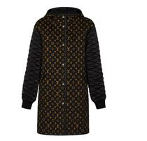 Louis Vuitton Monogram Casual Style Wool Blended Fabrics Long Coats