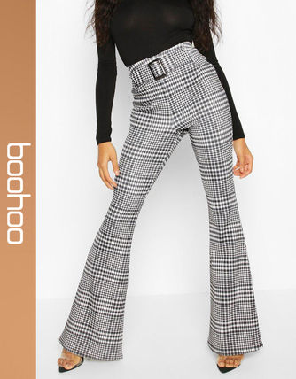 Other Check Patterns Casual Style Pants