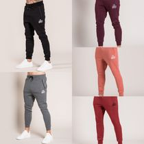 Bee Inspired Clothing Tapered Pants Sweat Street Style Plain Cotton Tapered Pants