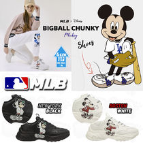 MLB Korea Casual Style Unisex Street Style Low-Top Sneakers
