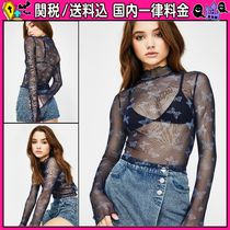 DOLLS KILL Short Casual Style Long Sleeves Other Animal Patterns