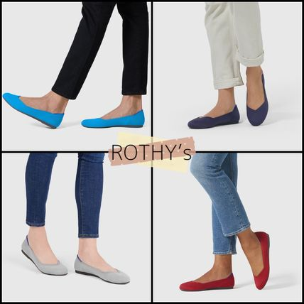 Round Toe Casual Style Plain Party Style Office Style