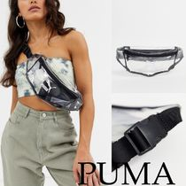 PUMA Casual Style Street Style Crystal Clear Bags Shoulder Bags