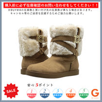 G BY GUESS Round Toe Casual Style Plain Boots Boots