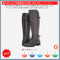 G BY GUESS Round Toe Casual Style Plain Flat Boots