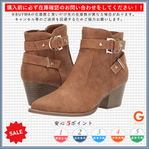 G BY GUESS Casual Style Plain Mid Heel Boots