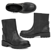 UGG Australia Casual Style Plain Leather Ankle & Booties Boots