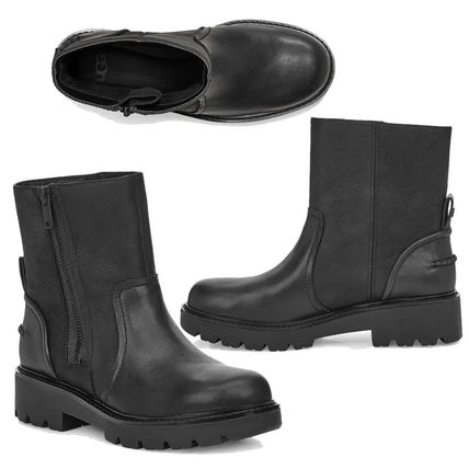 UGG Australia Ankle & Booties Casual Style Plain Leather Ankle & Booties Boots 2