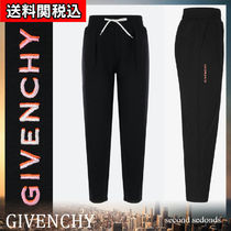 GIVENCHY Casual Style Sweat Plain Cotton Sweatpants