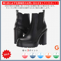 G BY GUESS Platform Plain Toe Casual Style Plain Chunky Heels