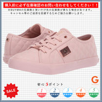 G BY GUESS Round Toe Casual Style Plain Low-Top Sneakers