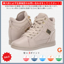 G BY GUESS Round Toe Rubber Sole Casual Style Plain Low-Top Sneakers