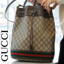 GUCCI Ophidia Casual Style Canvas Purses Crossbody Shoulder Bags
