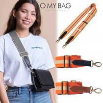 O MY BAG Stripes Other Check Patterns Casual Style Unisex Bi-color