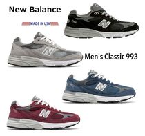 New Balance 993 Unisex Leather Sneakers