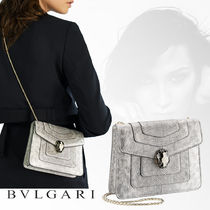 Bvlgari Casual Style Unisex Shoulder Bags