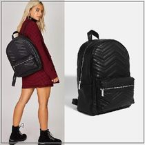 SKINNYDIP Casual Style Faux Fur Backpacks