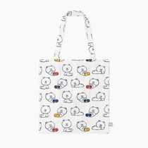 LINE FRIENDS Unisex Street Style Collaboration A4 Shoppers