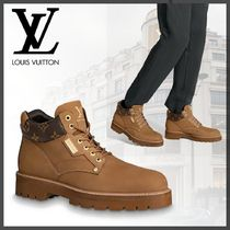 Louis Vuitton Leather Engineer Boots