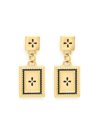 Costume Jewelry Casual Style Cross Handmade Brass