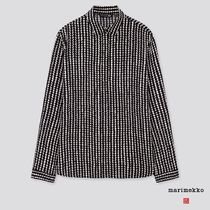 UNIQLO Dots Casual Style Collaboration Long Sleeves Medium