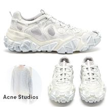 Acne Blended Fabrics Plain Sneakers