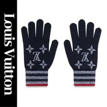 Louis Vuitton MONOGRAM Monogram Unisex Wool Gloves Gloves