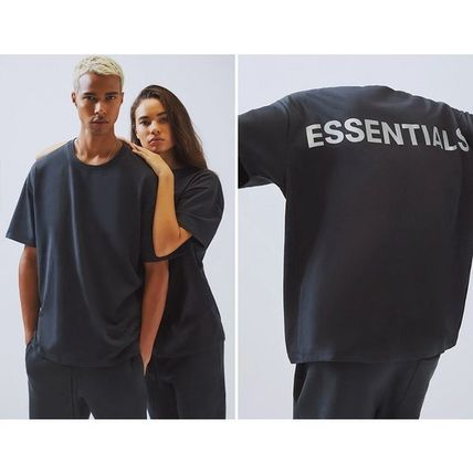 FEAR OF GOD More T-Shirts Crew Neck Unisex Street Style Cotton Short Sleeves T-Shirts 2