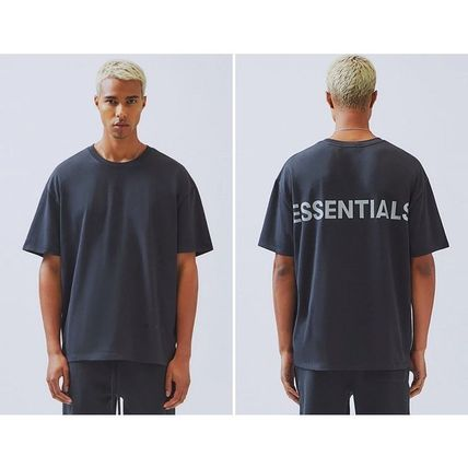 FEAR OF GOD More T-Shirts Crew Neck Unisex Street Style Cotton Short Sleeves T-Shirts 3