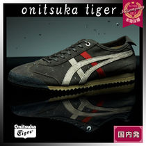 Onitsuka Tiger Unisex Street Style Leather Sneakers