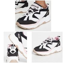 MSGM Casual Style Low-Top Sneakers