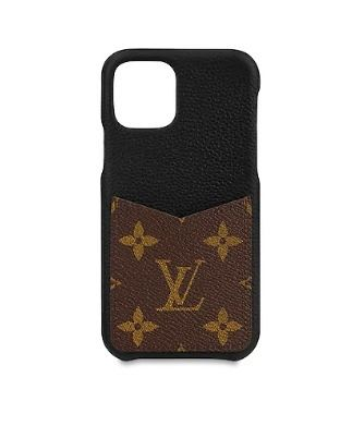 Louis Vuitton Smart Phone Cases Monogram Unisex Blended Fabrics Plain Leather 7