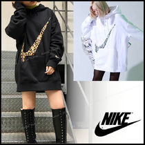 Nike Leopard Patterns Street Style Long Sleeves Cotton Logo