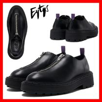 Eytys Unisex Plain Leather Oxfords