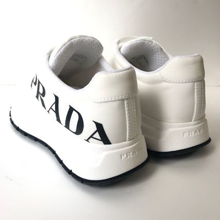 PRADA Low-Top Casual Style Street Style Plain Low-Top Sneakers 5