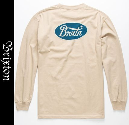 Street Style Long Sleeves Long Sleeve T-shirt Logo