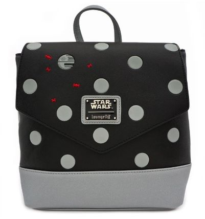 Dots Casual Style Collaboration Logo Backpacks