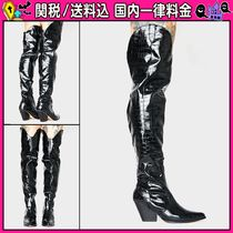 DOLLS KILL Casual Style Faux Fur Other Animal Patterns Chunky Heels