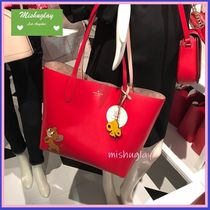 kate spade new york Collaboration A4 Leather Totes
