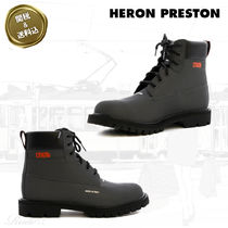 Heron Preston Street Style Plain Leather Boots
