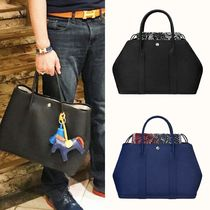 HERMES Garden Party Unisex Totes