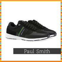 Paul Smith Stripes Leather Sneakers